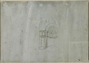 Tavole anatomiche Leonardo, il collo umano